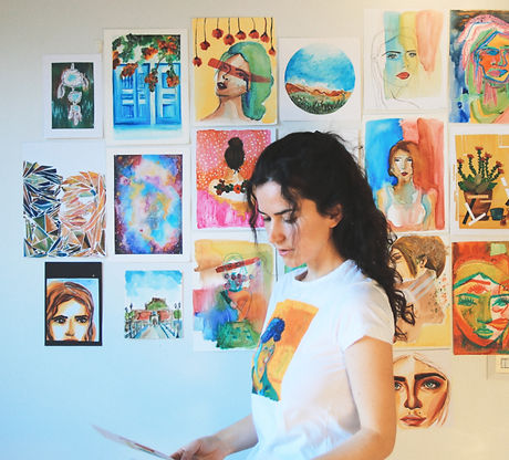 Teuta Pashnjari - Self Portrait.jpg