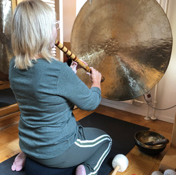 Gong & Shakuhachi Flute