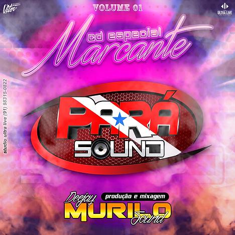 Capa CD Pará Sound Especial Melody Marca