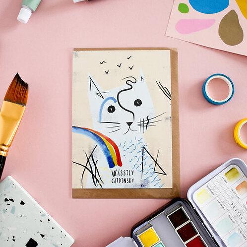 Carte + Enveloppe Wassily Catdinsky