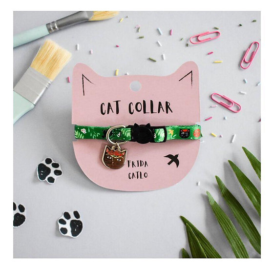 Collier pour chats Frida Catlo