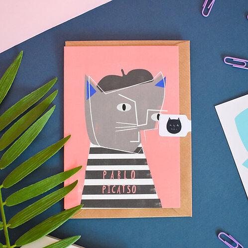 Carte + Enveloppe Pablo Picatso