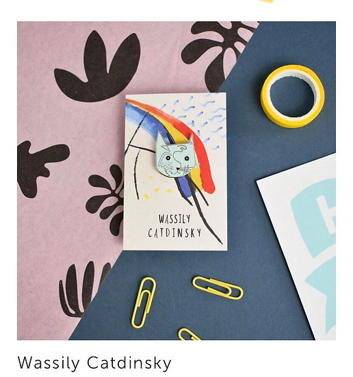 Pins Wassily Catdinsky