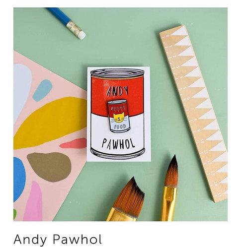 Pins Andy Pawhol