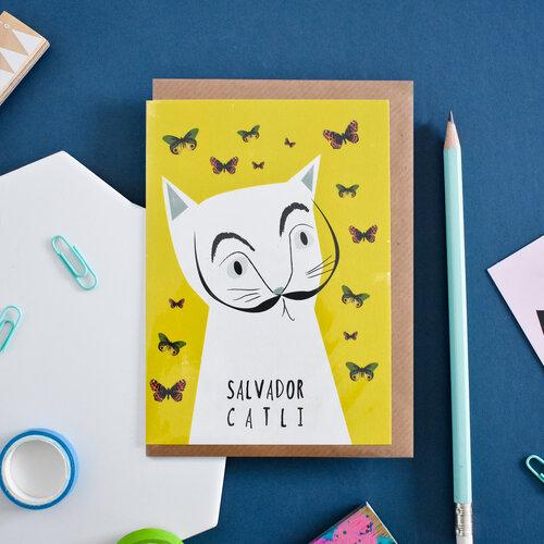 Carte + Enveloppe Salvatore Catli
