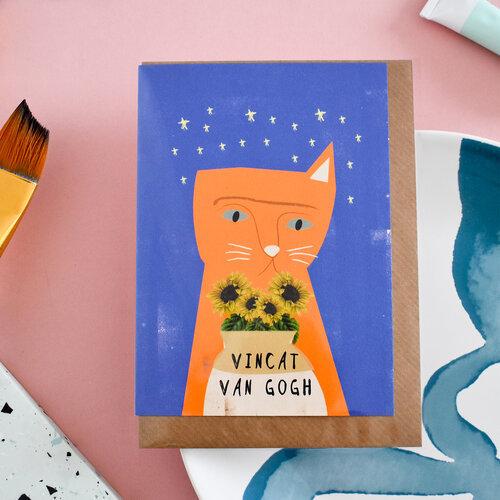 Carte + Enveloppe Vincat Van Gogh