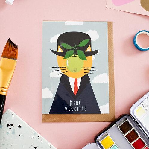 Carte + Enveloppe Rene Mogritte