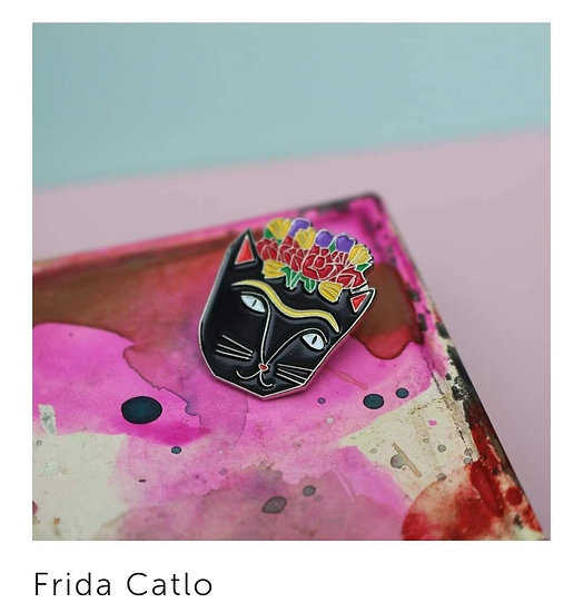 Pins Frida Catlo