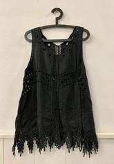 Blusa Negra Mujer - RESERVADA