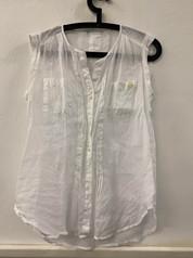 Blusa Blanca Mujer M