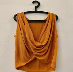 Blusa Amarilla Mujer