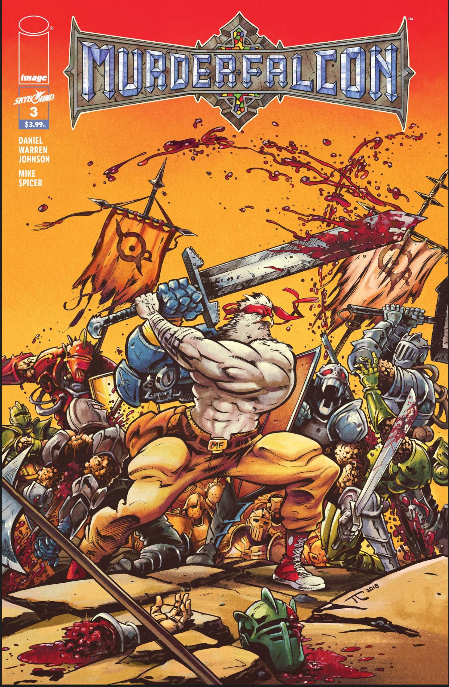 Murder Falcon #3 Cover