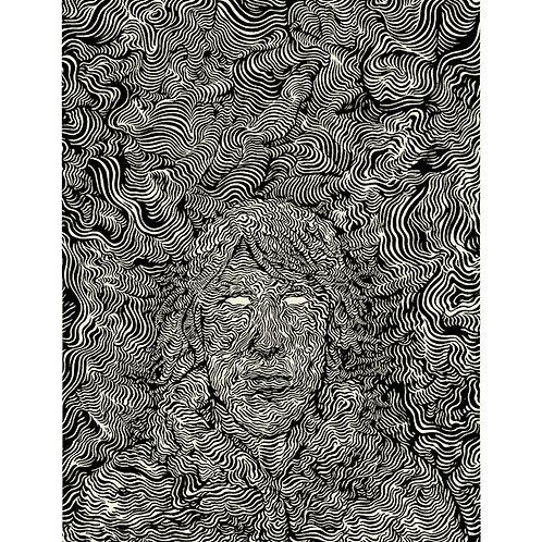 Victus: #4 Cover, 8.5x11 Print