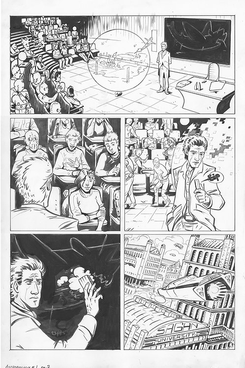 Astrobiology #1, Page 2