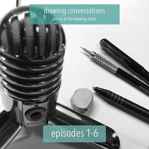 Drawing Conversations: Season 1, Part 1