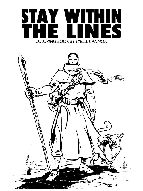 Stay Within The Lines Coloring Book