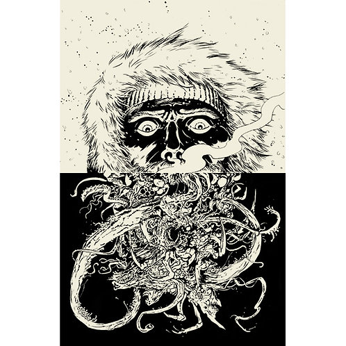 The Thing: Inside Out, 11x17 Print