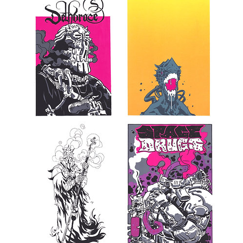 4 Screen Print Bundle