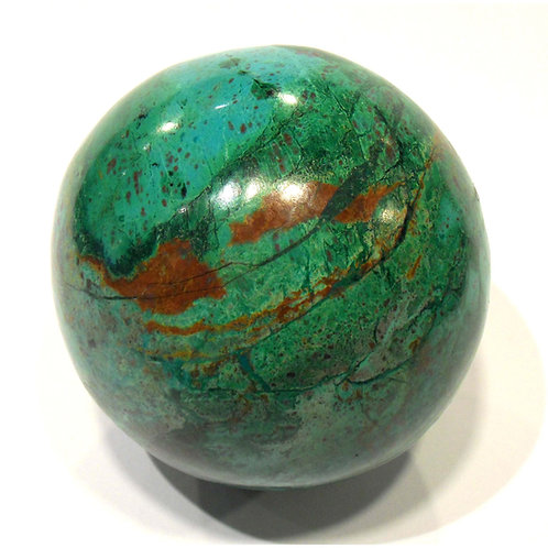 Chrysocolla Ball