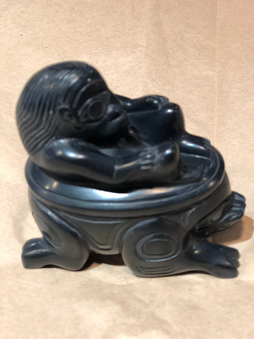 Argillite haida art works