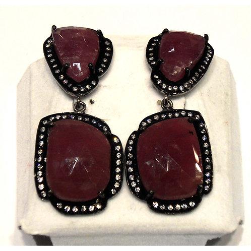 Ruby Earings