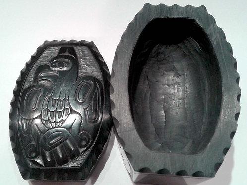 Haida Argillite Box