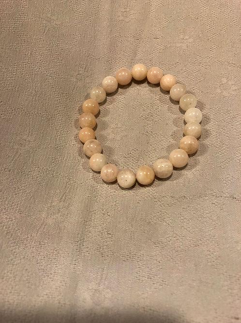 Morganite bracelet