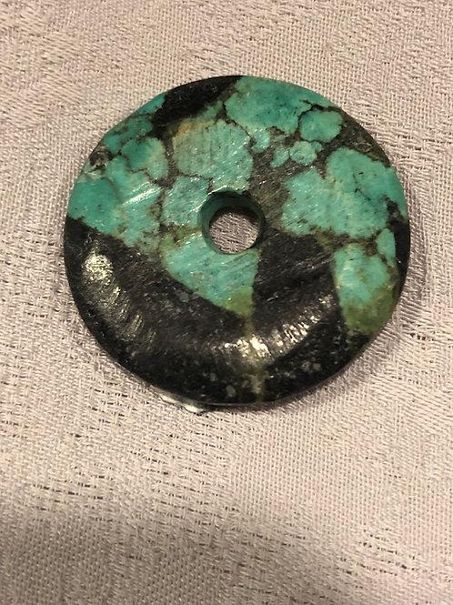 Turquois donut