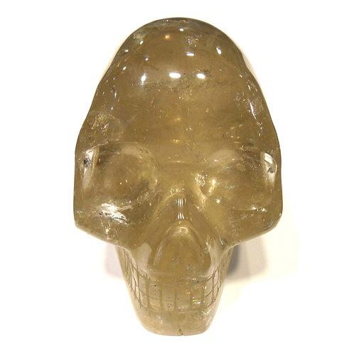 Citrine Skull
