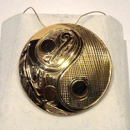 Haida Gold Pendant