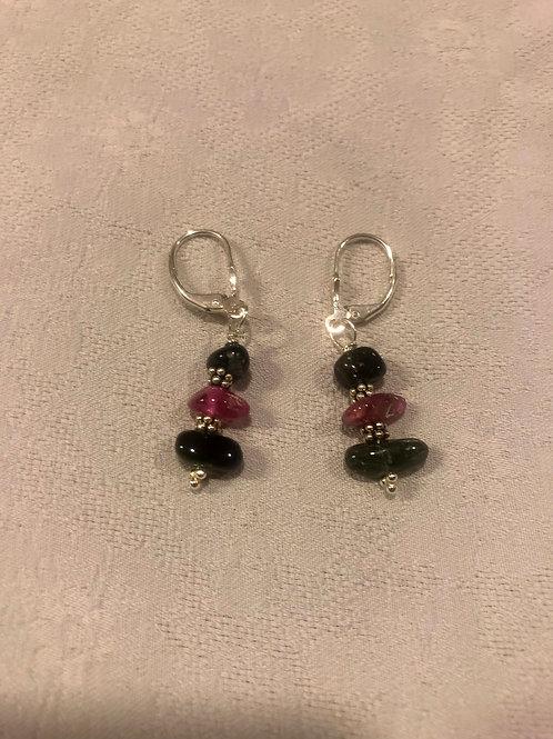 Tourmaline earrings