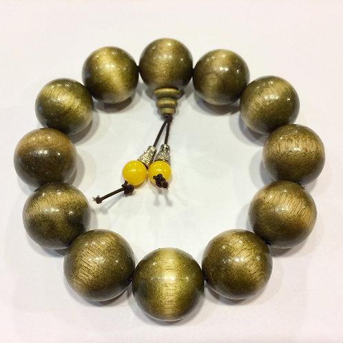 Golden Nanmu Bracelet