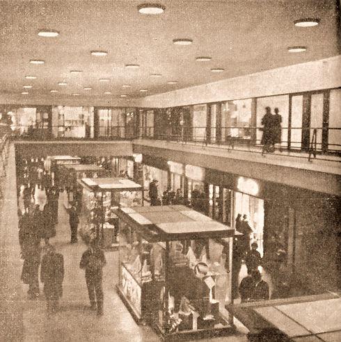 Inauguración de Galeria Rosario 1956