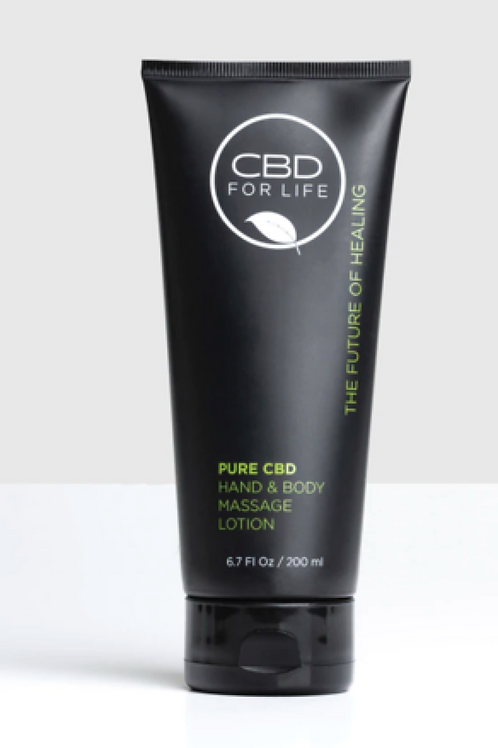 CBD HAND & BODY MASSAGE LOTION