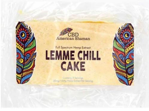 CBD Lemon Cake