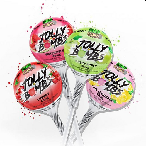 CBD Lollipops 40MG per lollipop