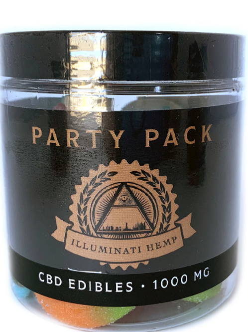 1000MG Party Pack Gummies