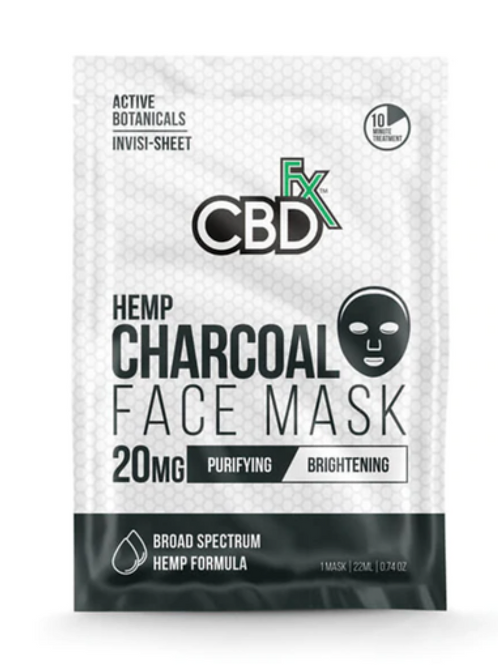 BD FACE MASK - CHARCOAL - 20MG