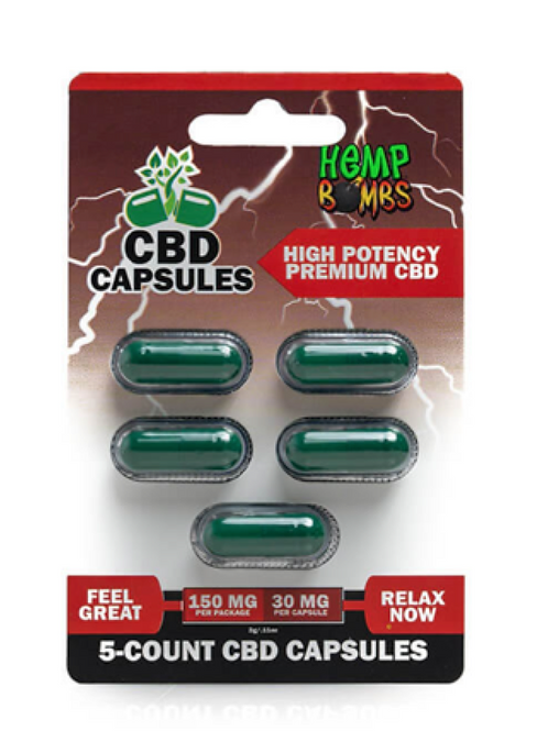 5 Count High Potency Capsules