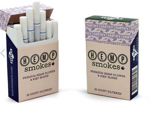 Earthy Now Filtered Hemp Smokes