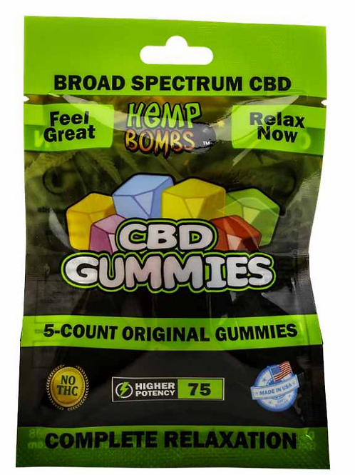 Broad Spectrum Gummies 5-Count