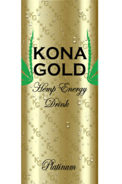 Kona Gold 12oz Hemp Energy Drink