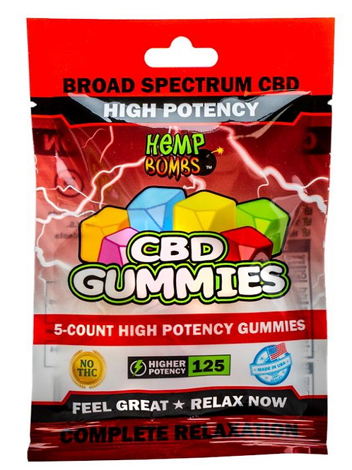 High Potency Gummies