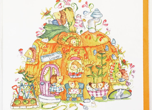 Pumpkin cottage CARD