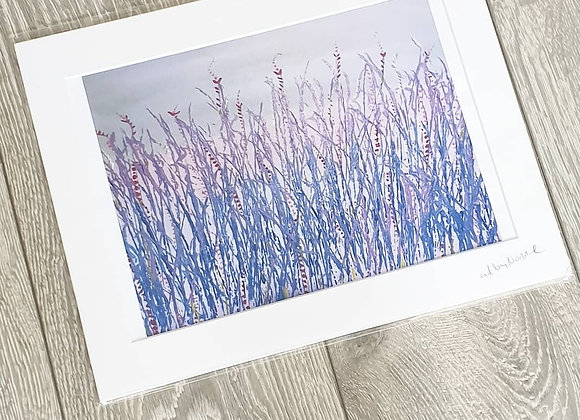 Lilac Acrylic Painting