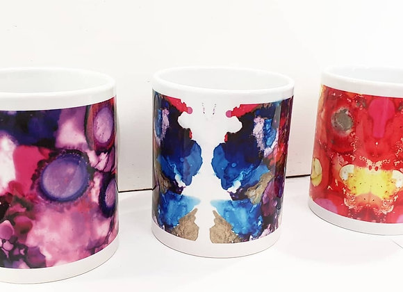 Ink Design Mugs