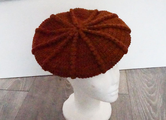 Crochet Hat Orange