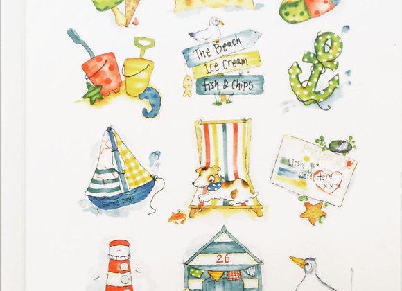 Seaside Card