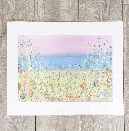 Long Grass Acrylic Painting