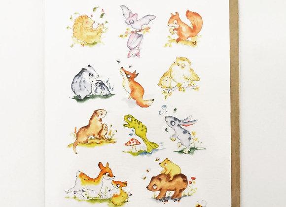 Wildlife Card